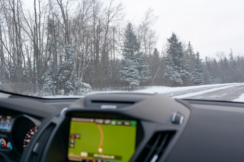 Finding the trees and the forest with a GPS