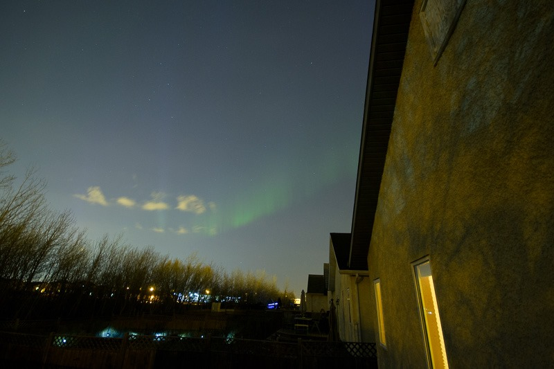 Aurora from the deck
