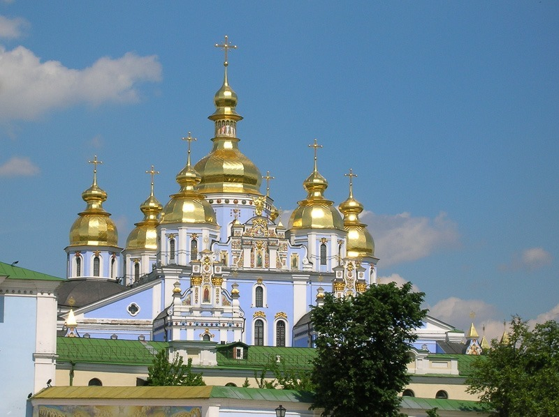 Michaelovska, or St. Michael's Golden-Domed Cathedral