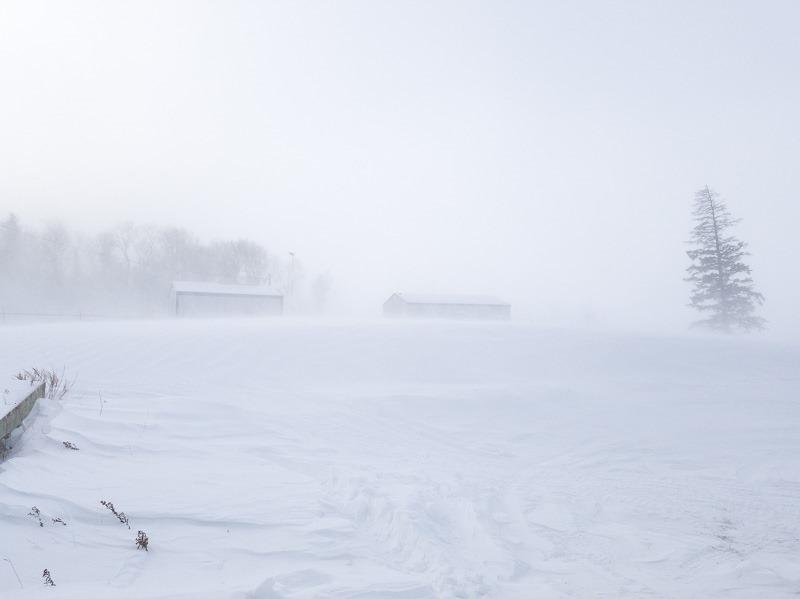 Natural view of Manitoba's cold