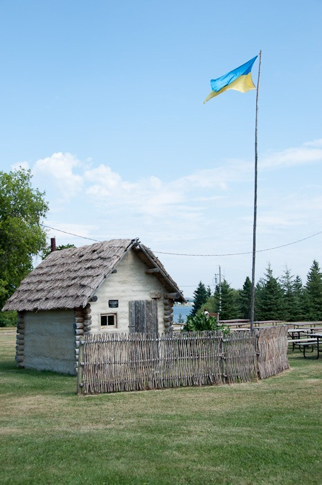 Replica of a Ukrainian house, beginning 1900s