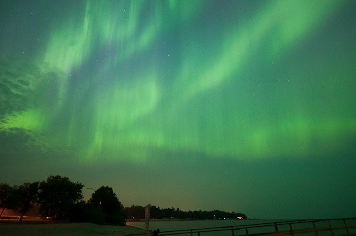 Aurora over Matlock, MB
