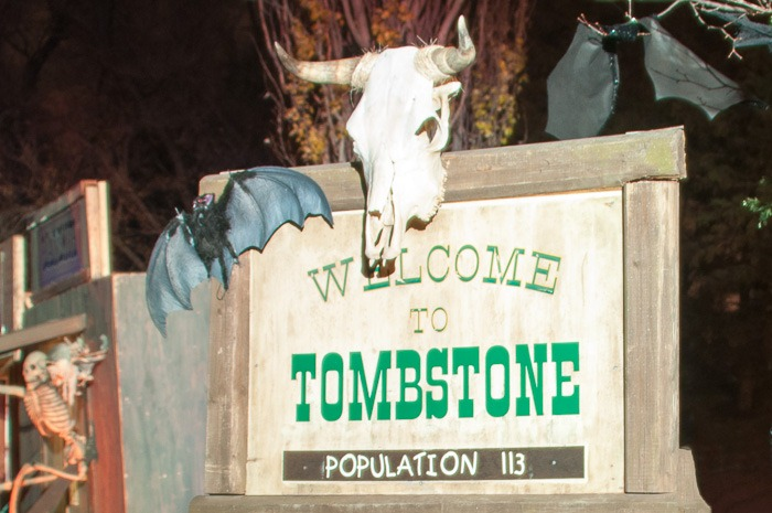 Tombstone, a lively village