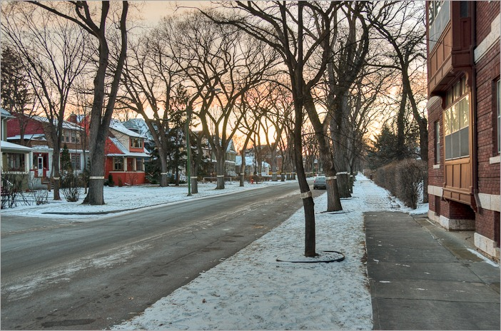 Dorchester Avenue in HDR