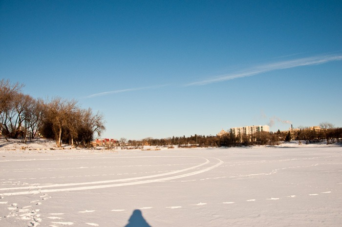 "The Red River and ""white"" snow"