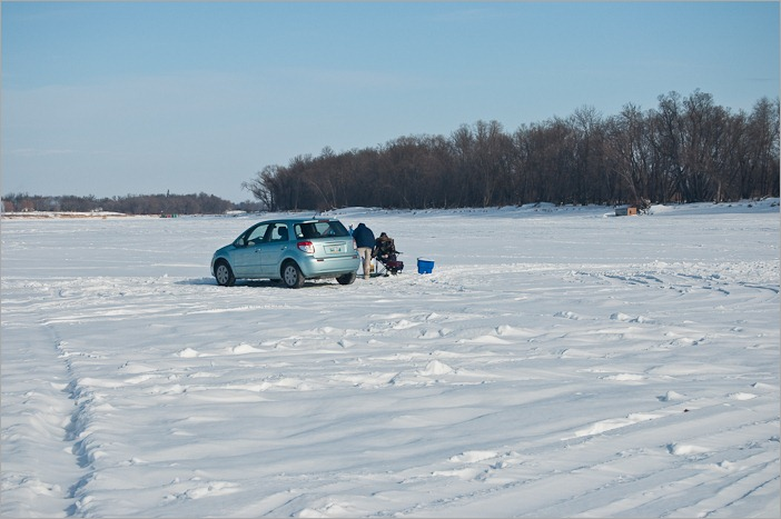 Parking on ice