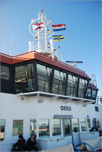 "On the ferry ""Oerd"""
