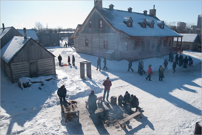 Fort Gibraltar during the Festival du Voyageur