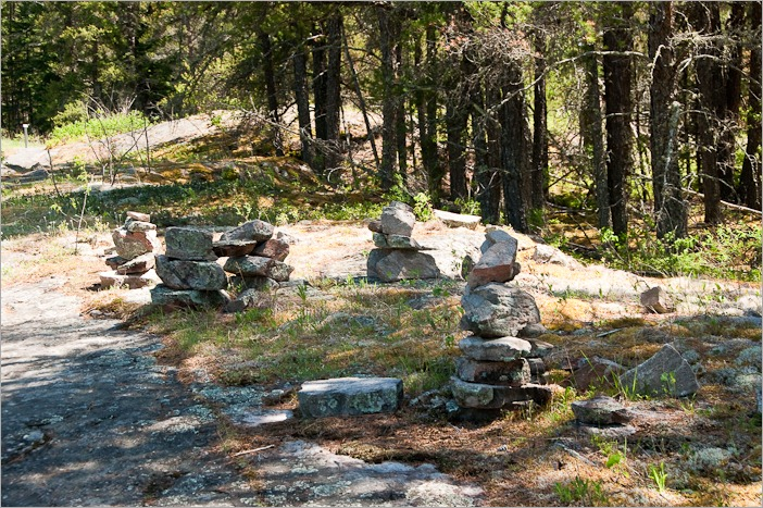 Party of inuksuit