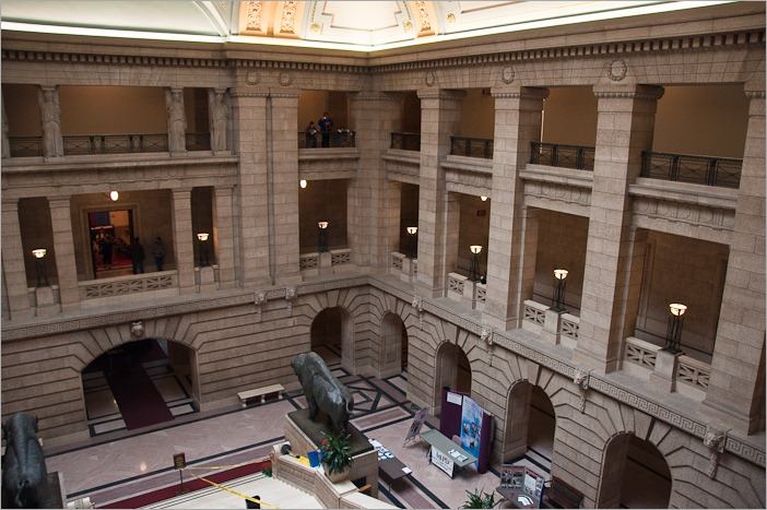 Main hall of the Legislature