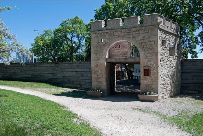 Upper Fort Garry in Winnipeg