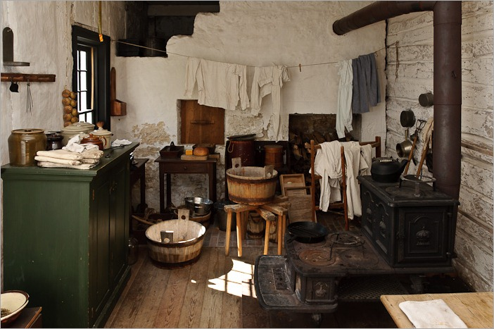 "Kitchen in the ""Men's house"""
