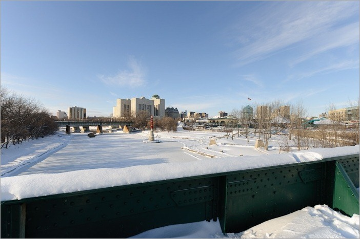 The last meters of the life of the Assiniboine River