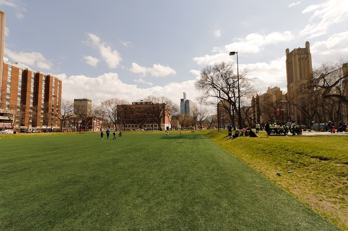 Central Park soccer field