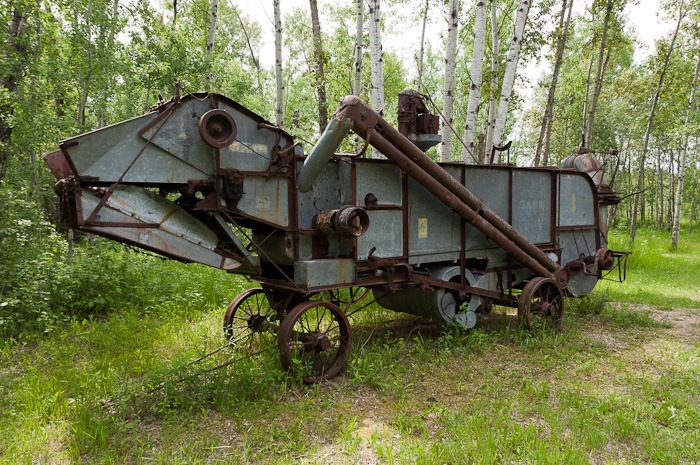 An old Combine